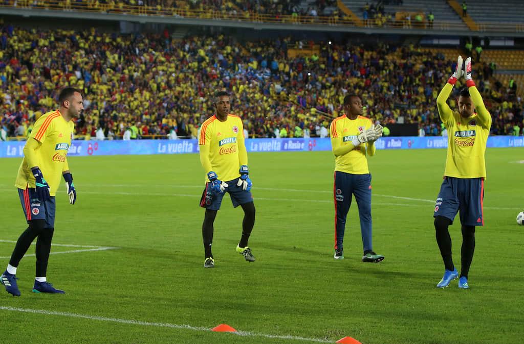 Preocupación por los porteros de selección Colombia para amistosos contra Venezuela y Argentina
