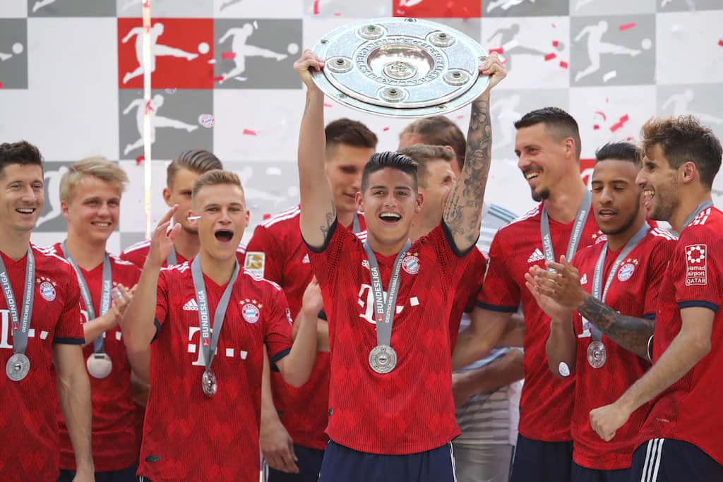 James es la clave de Bayern München para repetir título según la página de la Bundesliga