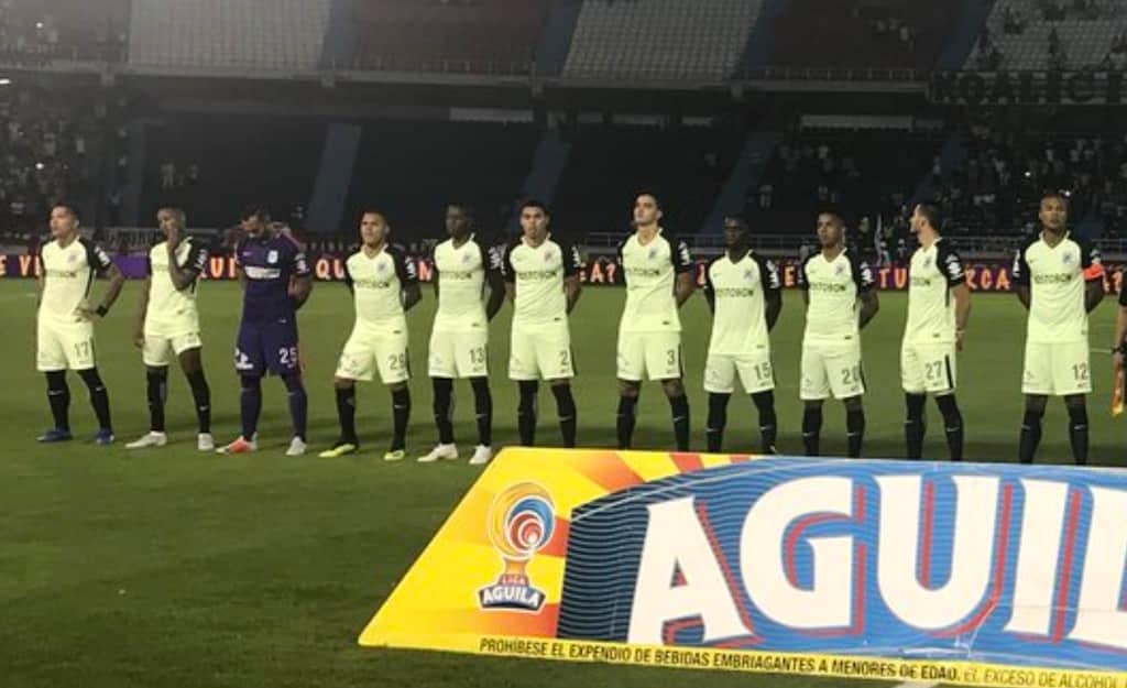 Video: Pelea entre Dayro Moreno y Gonzalo Castellani en Junior VS Nacional, Copa Águila 2018