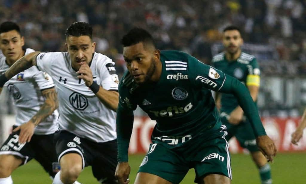 Video: Actuación de Miguel Borja en Colo Colo VS Palmeiras por cuartos de final Copa Conmebol Libertadores 2018