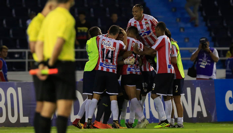 Hora y Canal: Junior VS Colón por ida de Copa Sudamericana 2018 (octavos de final)