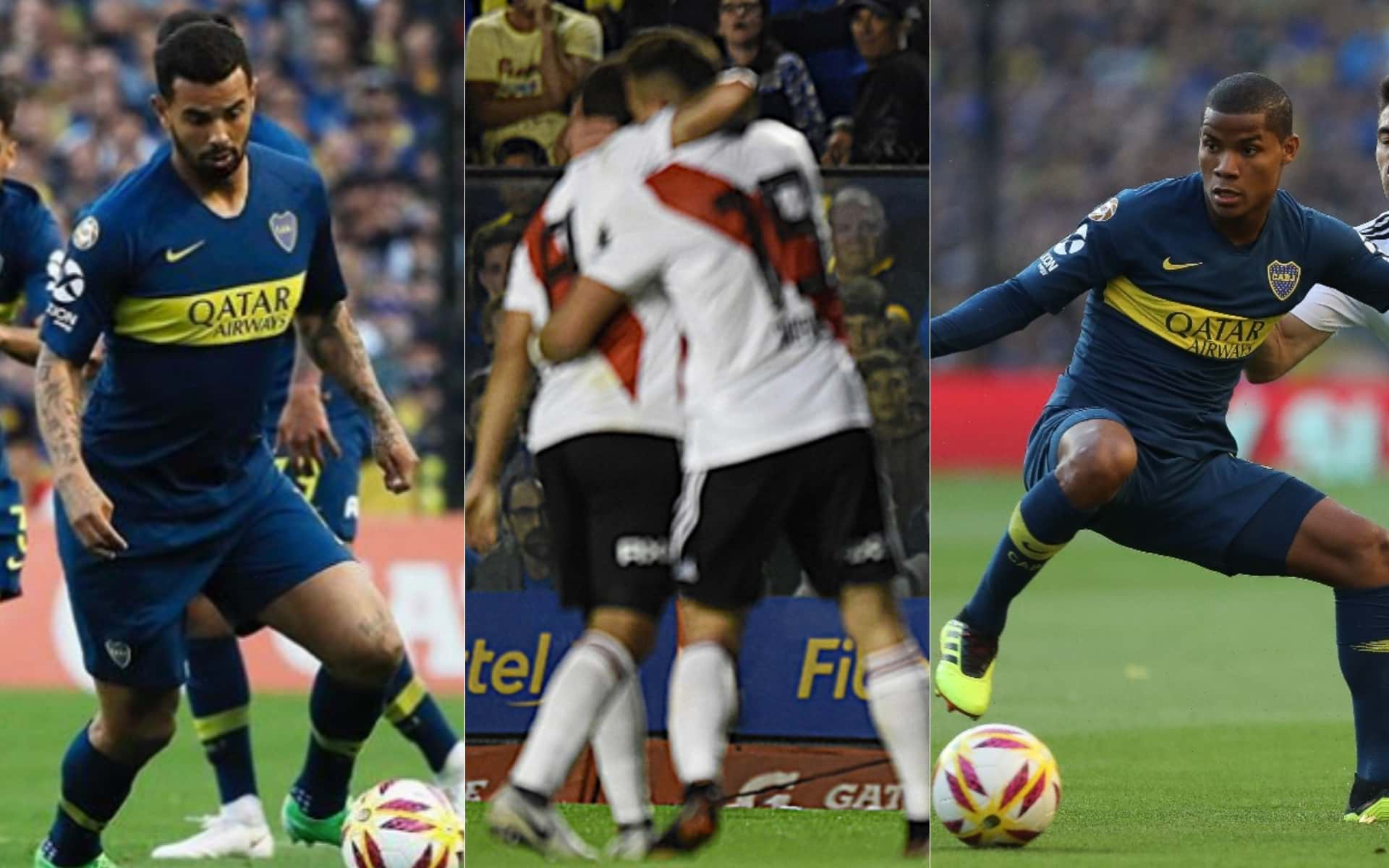 Video: Jugadores colombianos en Boca Juniros VS River Plate de Fecha 6 de Superliga Argentina 2018/19