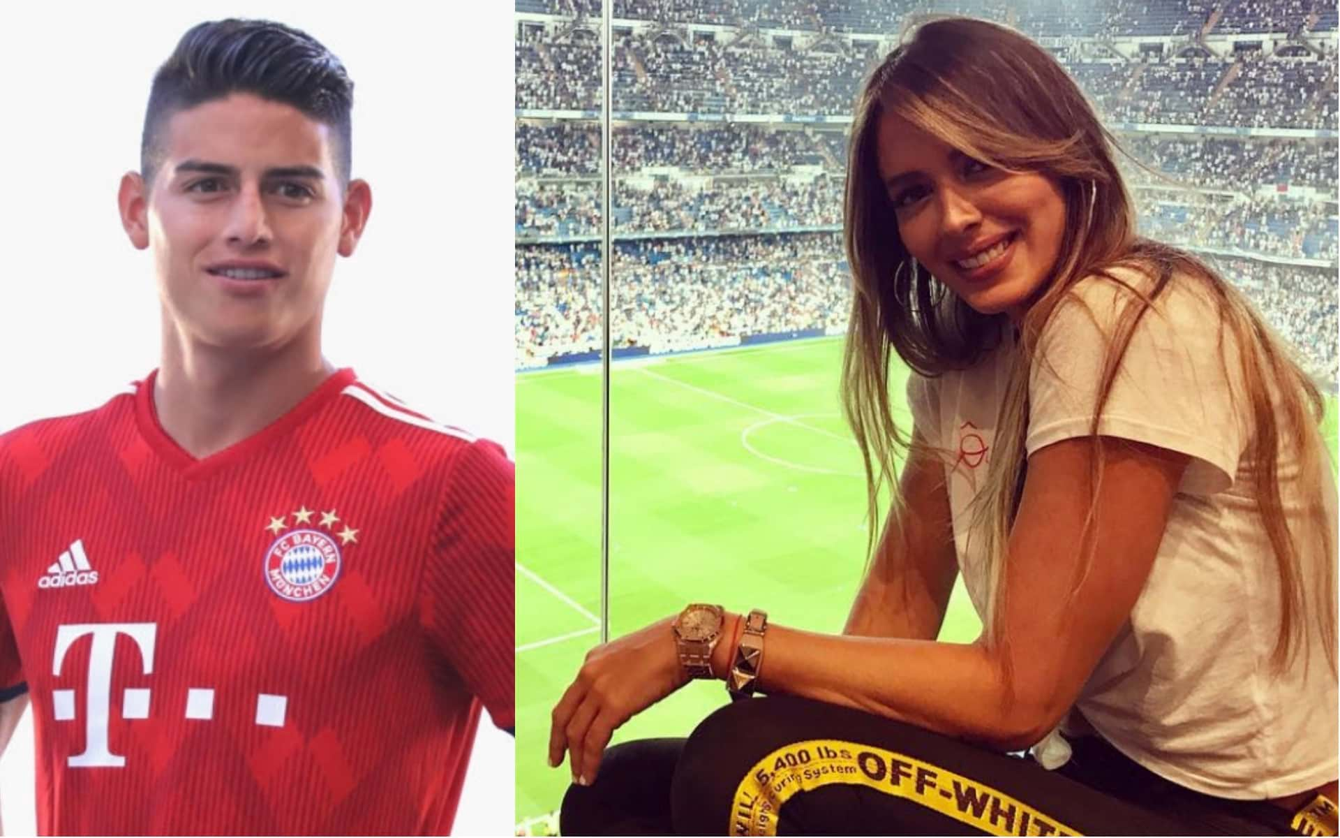 Foto: Esto supuestamente prueba que están juntos James Rodríguez y Shannon De Lima