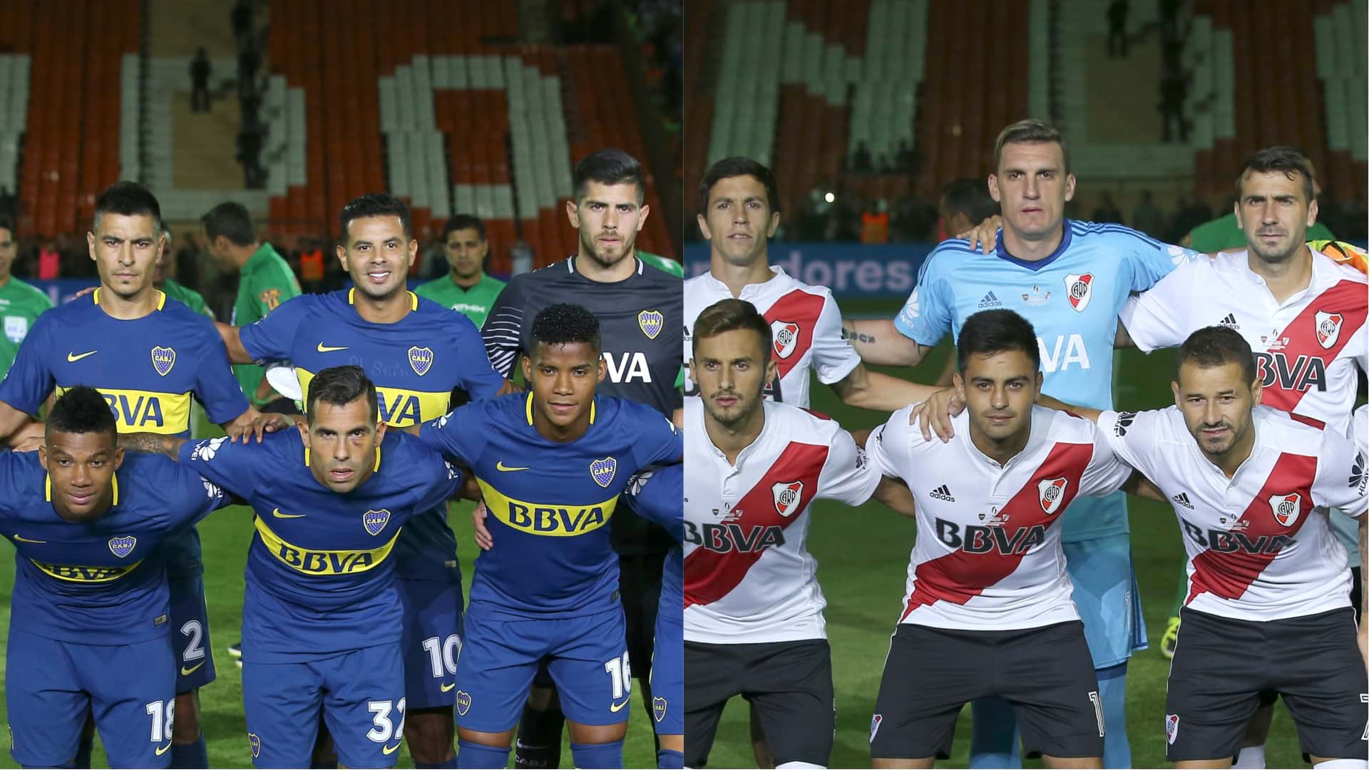 Hora y Canal: Colombianos en Boca Juniors VS River plate de Superliga 2018-19