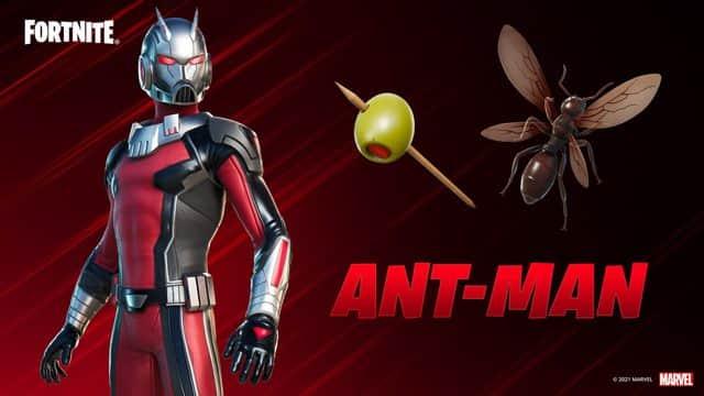 Fortnite: Teasers de Ant-Man y anuncio oficial
