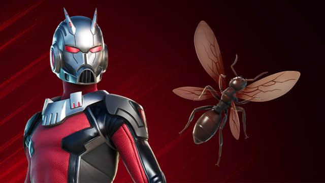 Fortnite: Ant-Man es el más reciente superhéroe en unirse al juego