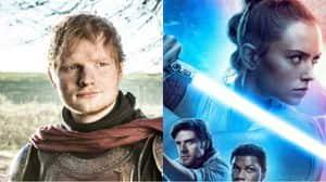 The Rise of Skywalker: Ed Sheeran hizo un cameo y nadie lo notó