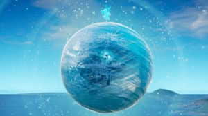 Fortnite: El evento Tormenta de Hielo comienza luego de que la esfera cubriera al mapa de nieve.