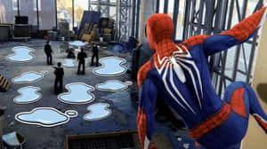 Desarrolladores de Marvel's Spider-Man responden a las quejas por charcos con stickers