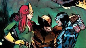 X-Men presentó una relación poli-amorosa