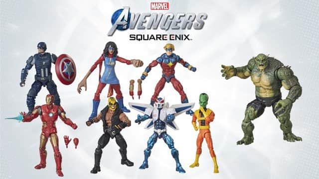 Marvel's Avengers: lanzan nuevas figuras de acción inspiradas en el videojuego