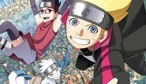 Naruto y Boruto niños tendrán aventuras juntos