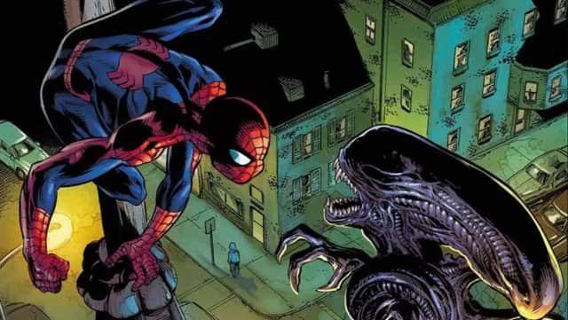 Marvel vs Alien: este es el primer vistazo del gran evento
