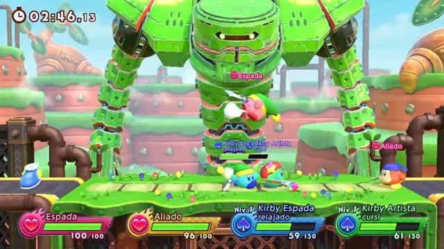 Kirby Fighters 2 - Galería de imágenes