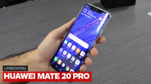Unboxing Huawei Mate 20 Pro