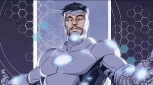 Iron Man tiene una armadura inspirada en Venom