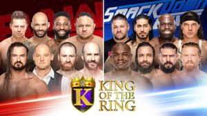 WWE RAW: estos fueron los ganadores de la primera ronda del King of the Ring