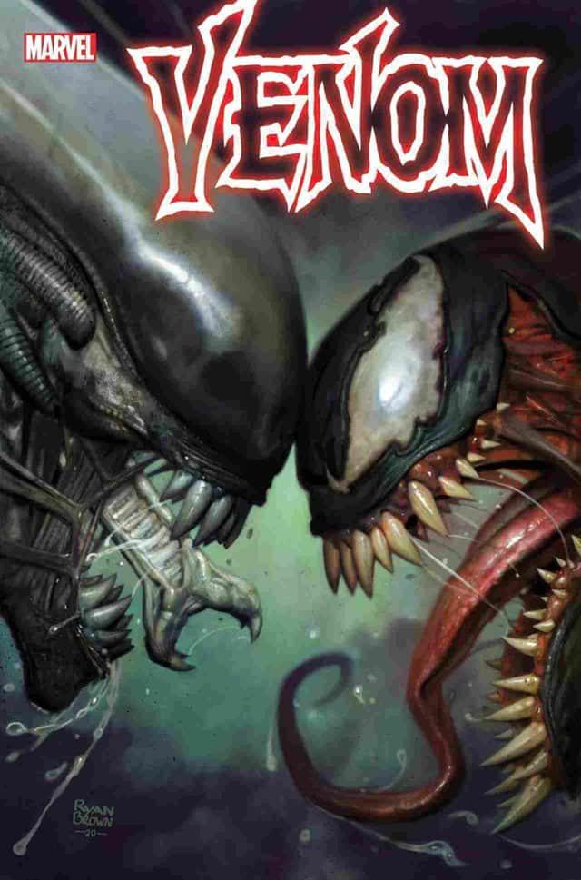 Marvel vs. Alien - Las portadas del crossover