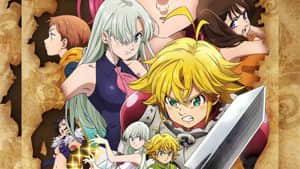 Nanatsu no Taizai: la temporada 3, Wrath of the Gods, finalmente tiene fecha de estreno