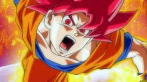 Dragon Ball presentó a un nuevo Super Saijayin Dios