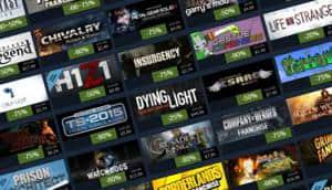 Se filtran las fechas de las tres siguientes ventas de Steam