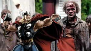 The Walking Dead: el martillo de Thor existe en este universo y también es un arma letal