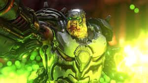 Doom Eternal - 10 minutos de gameplay intenso